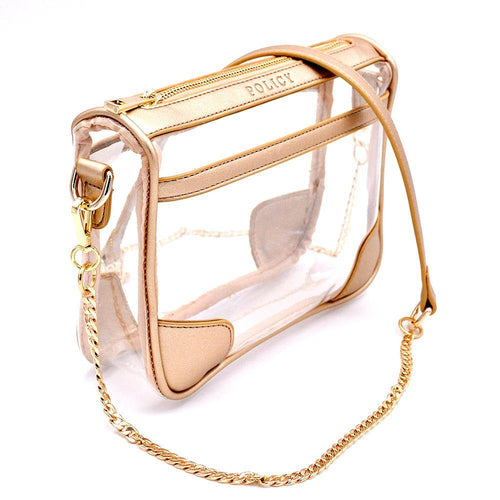clear bag policy gold