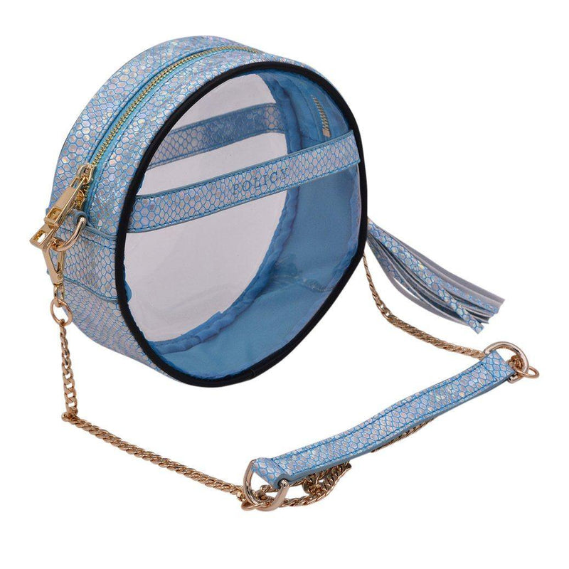 The Roundie- Caribbean Mermaid Handbag POLICY Handbags Gold Hardware Caribbean Mermaid