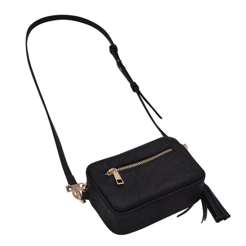 The Dillion- Black - POLICY Handbags Policy Bag