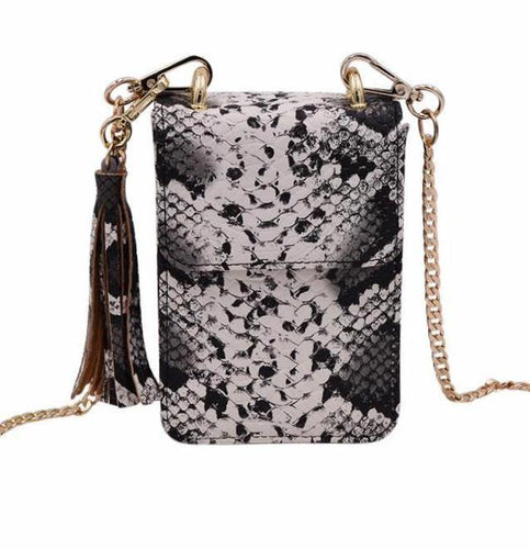 The Flipper- Python - POLICY Handbags Policy Bag