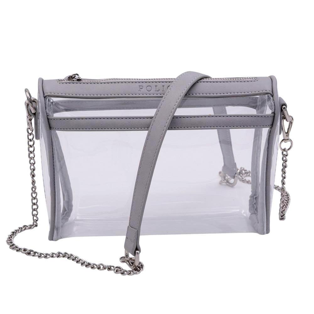 Be Clear Policy- Granite Gray | POLICY Handbags | POLICY Handbags