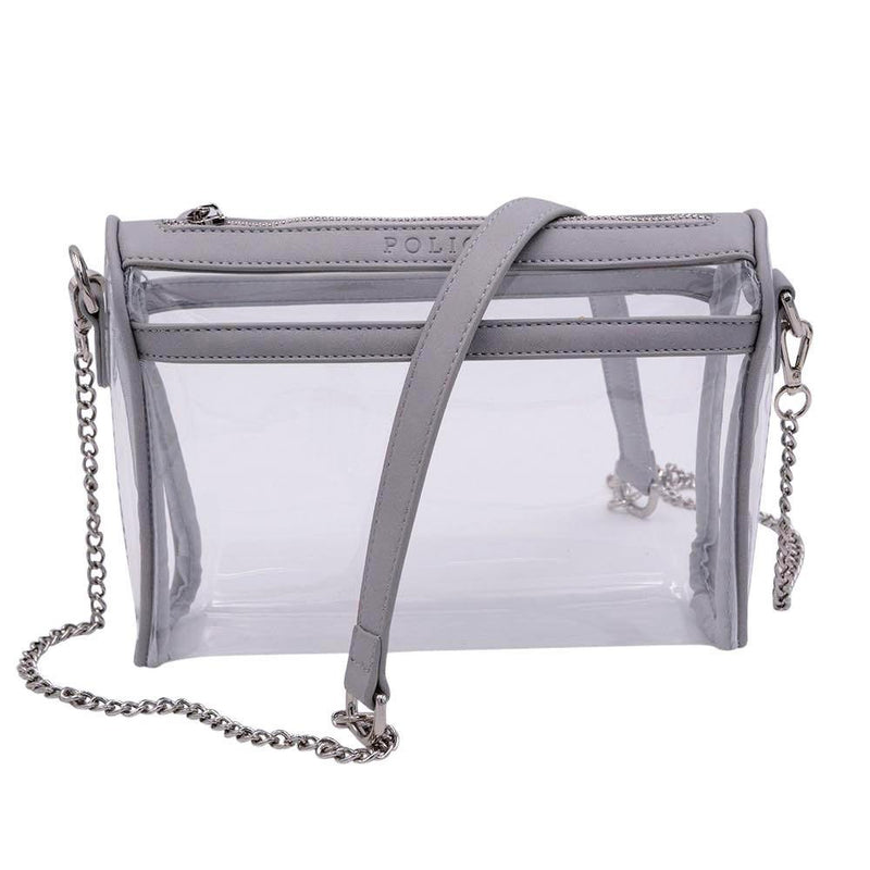 Be Clear Policy- Granite Gray - Policy Handbags
