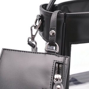The Bare Bucket | Classic Black | POLICY Handbags | POLICY Handbags