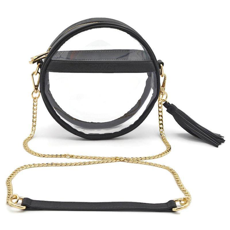 The Bare Roundie | Vintage Black POLICY Handbags