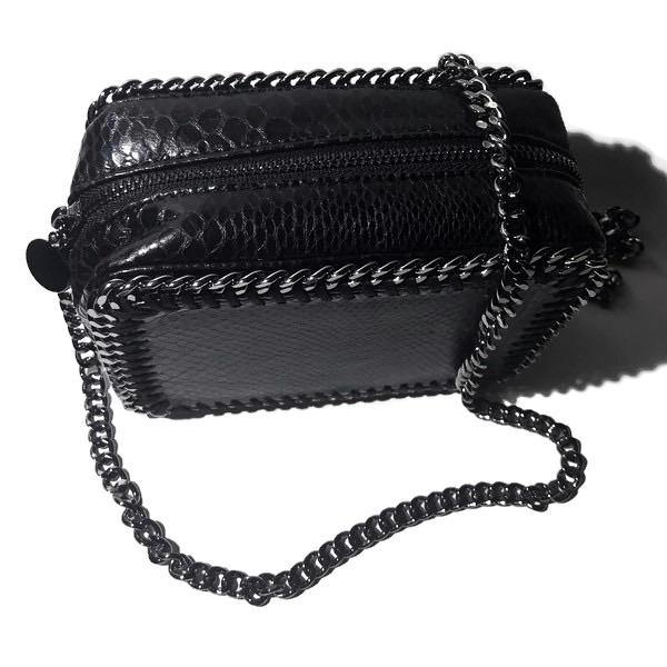 the LocoMoto Crossbody | Black Snake