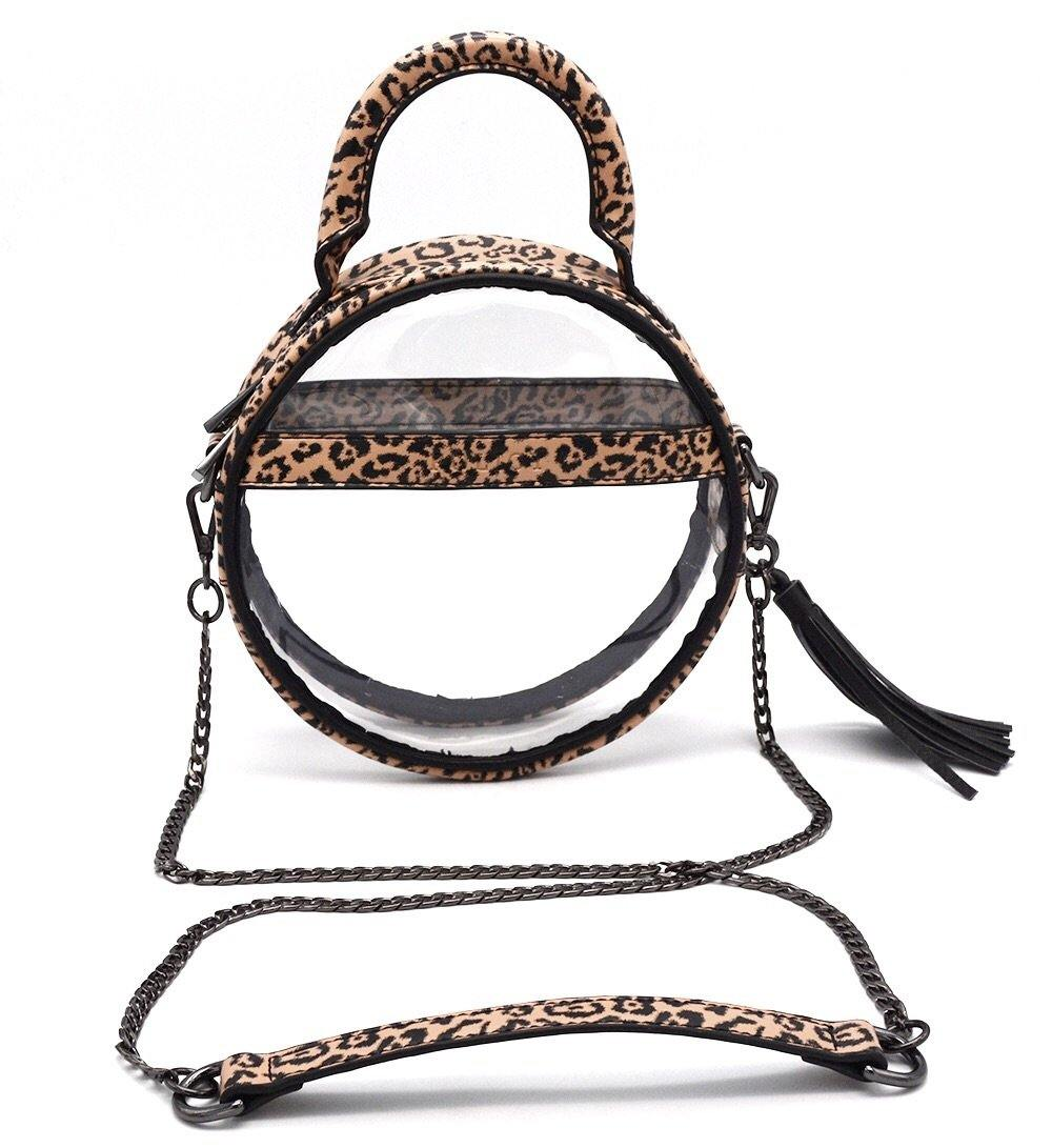 The Roundie Halo | Cheetah Cub - POLICY Handbags