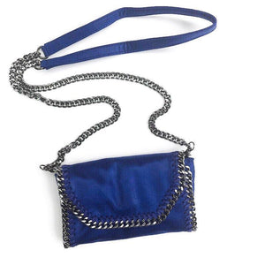 Mama Moto Clutch | Bold Blueberry | POLICY Handbags