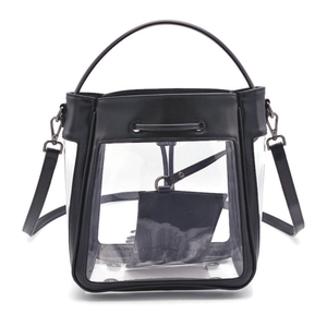The Bare Bucket | Classic Black | POLICY Handbags