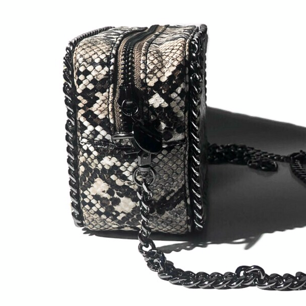 the LocoMoto Crossbody | Valley Snake | POLICY Handbags