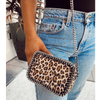 the LocoMoto Crossbody | Lucky Leopard POLICY Handbags