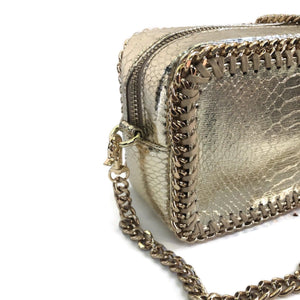 the LocoMoto Crossbody | Serpent Shine | POLICY Handbags | POLICY Handbags