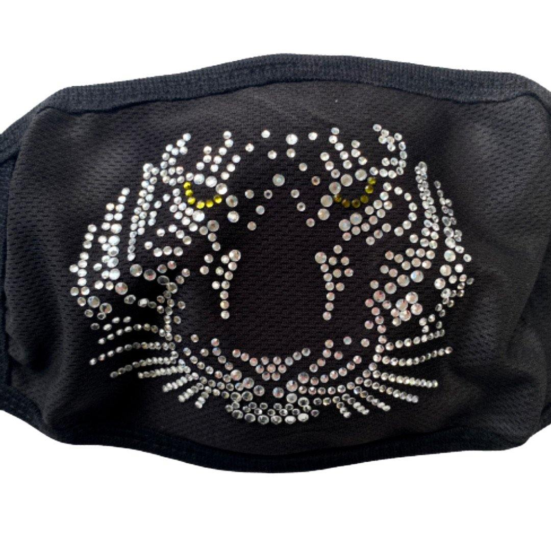 Jeweled Tiger Mask POLICY Handbags