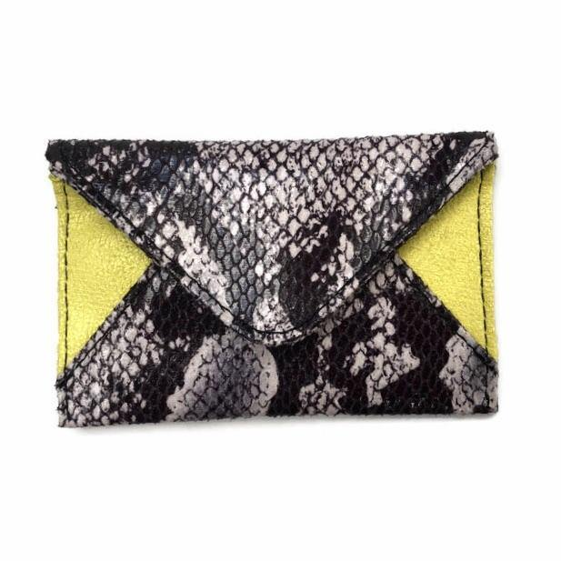 The Heather Holder | Wild Snake Colors | POLICY Handbags | POLICY Handbags