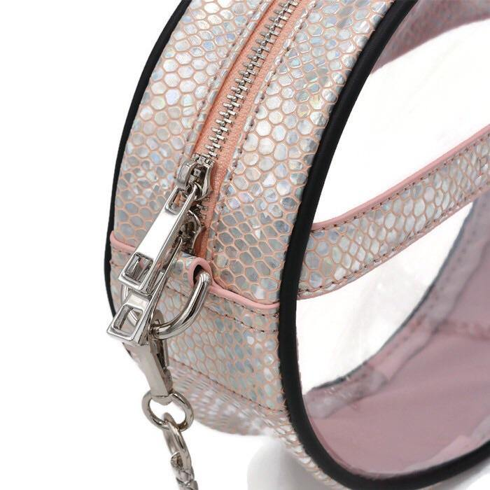 The Roundie- Blushing Mermaid | POLICY Handbags | POLICY Handbags