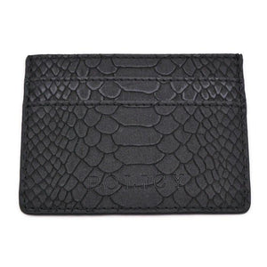 The iCard Holder- Black Snake | POLICY Handbags | POLICY Handbags