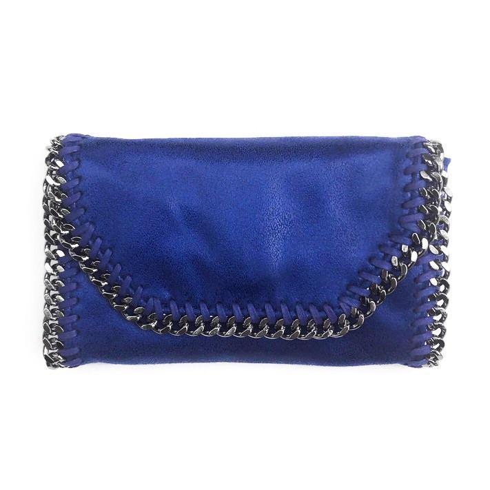Mama Moto Clutch | Bold Blueberry | POLICY Handbags | POLICY Handbags