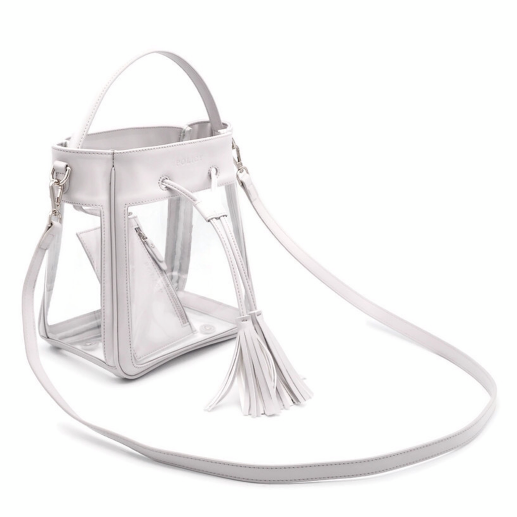 The Bare Bucket | Elephant Gray | POLICY Handbags
