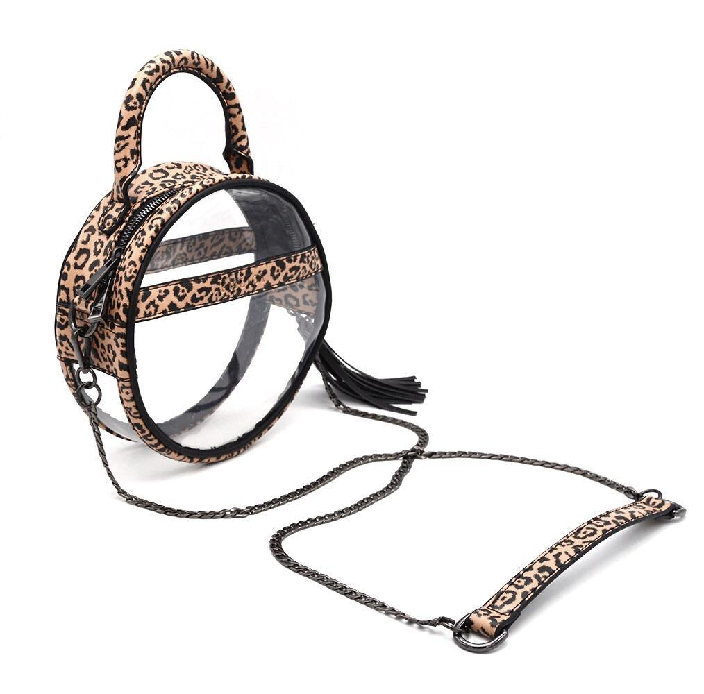 The Roundie Halo | Cheetah Cub POLICY Handbags