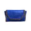 Mama Moto Clutch | Bold Blueberry POLICY Handbags