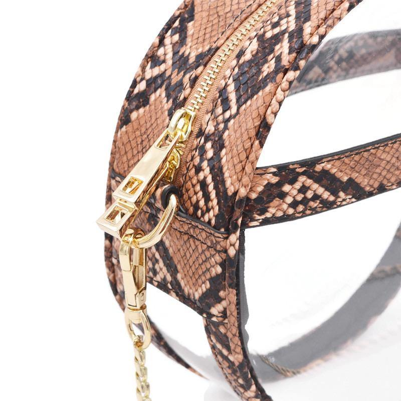 The Bare Roundie | Shore Snake POLICY Handbags