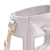 The Mini Bare Bucket | Elephant Gray | POLICY Handbags | POLICY Handbags