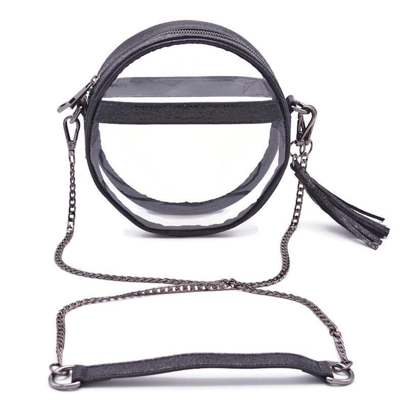 The Bare Roundie | Black Ice POLICY Handbags