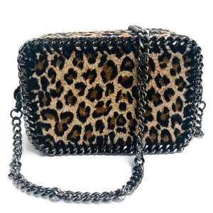 the LocoMoto Crossbody | Lucky Leopard | POLICY Handbags | POLICY Handbags