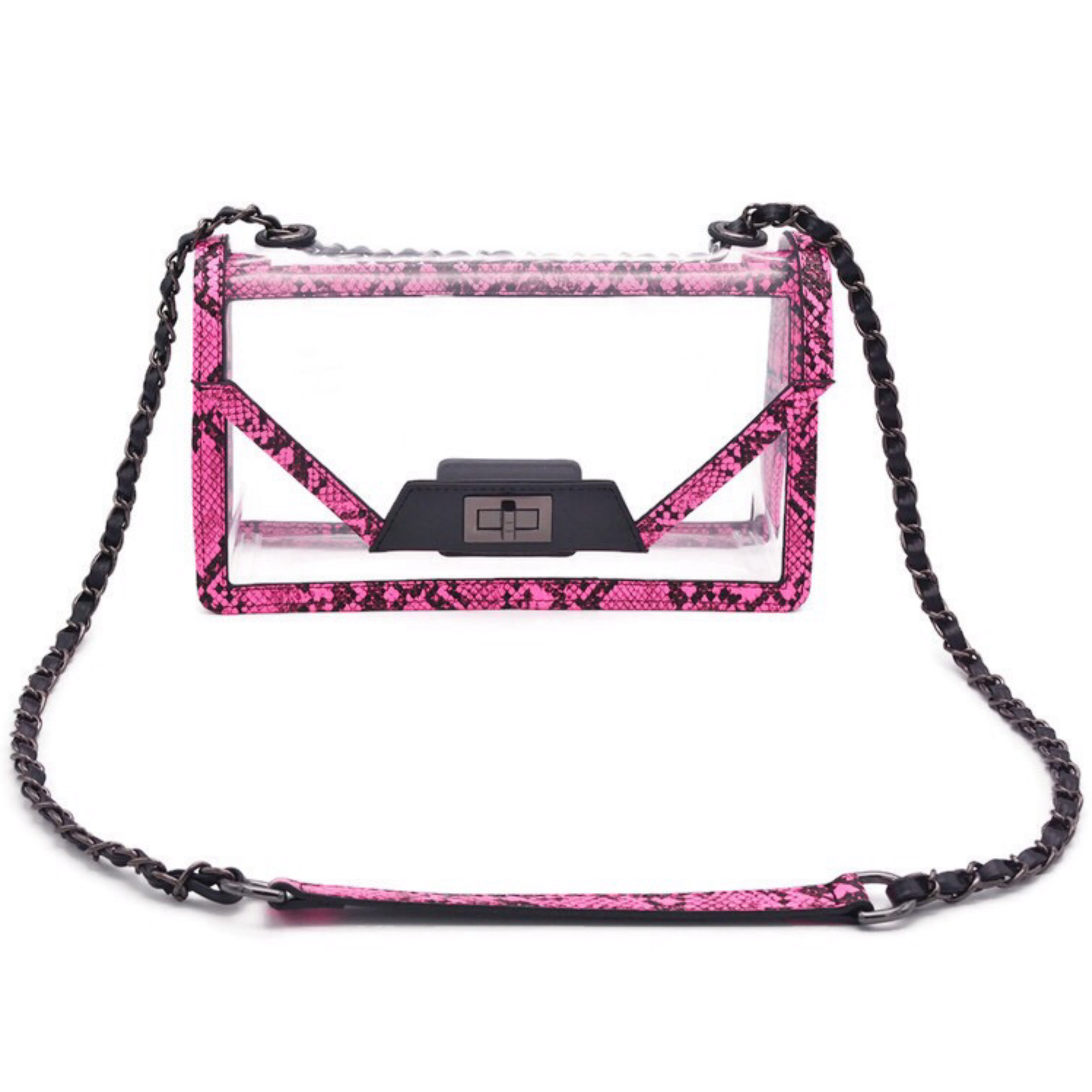 The Mama Cher | Python Punch POLICY Handbags