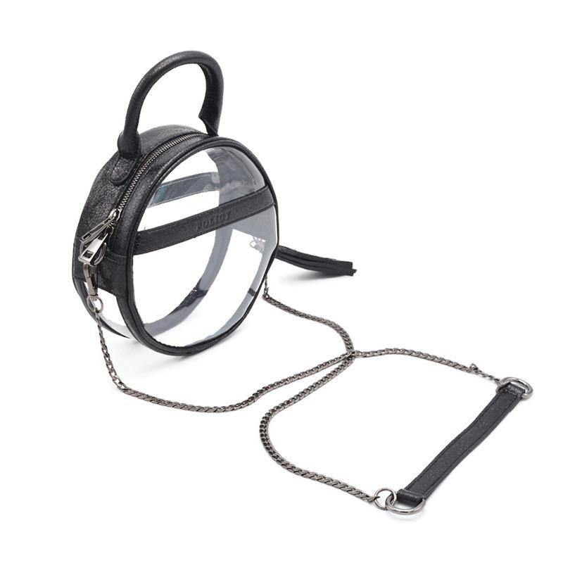 The Roundie Halo | Black Ice | POLICY Handbags | POLICY Handbags
