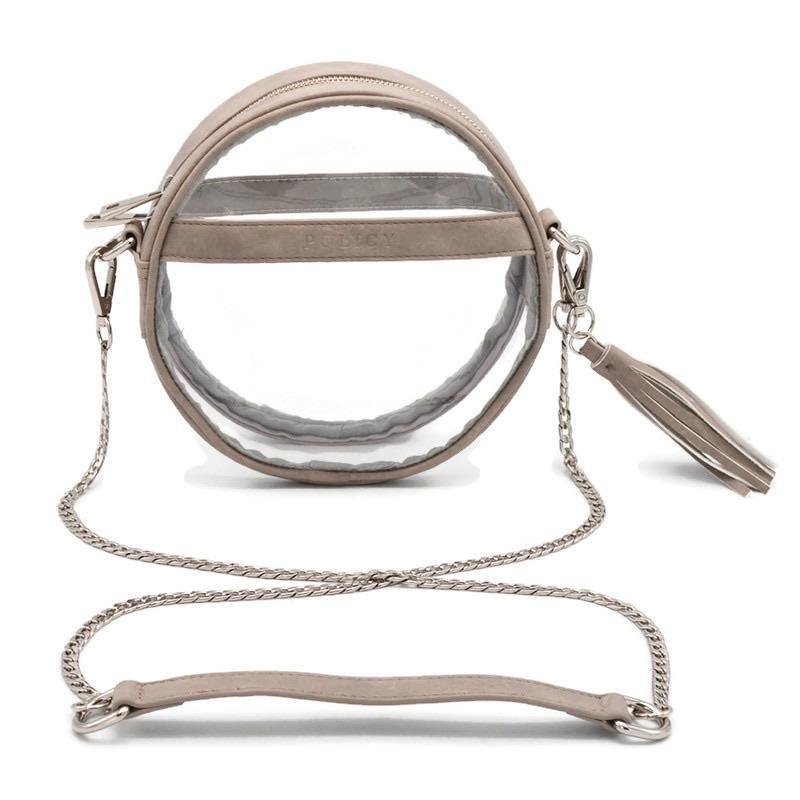 The Bare Roundie | River Rock | POLICY Handbags