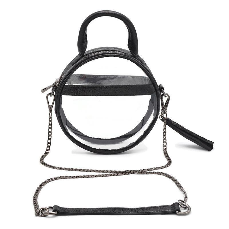 The Roundie Halo | Black Ice | POLICY Handbags