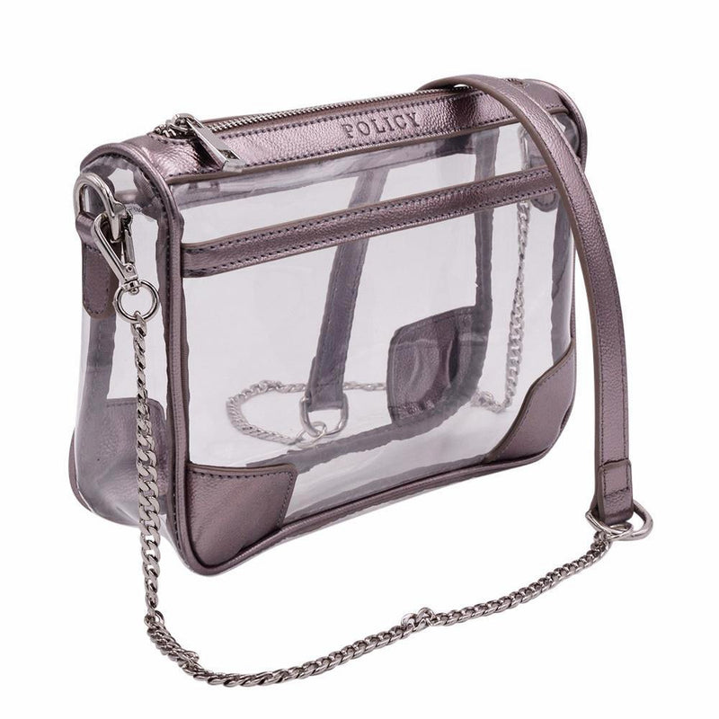 The Drake - Platinum Pewter | POLICY Handbags | POLICY Handbags