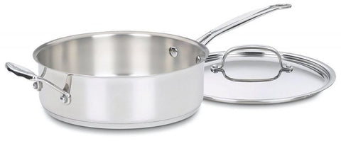 cookware set cuisinart chefu0027s food healthy pan stainless wlid cover stove heat - Cuisinart Pots And Pans