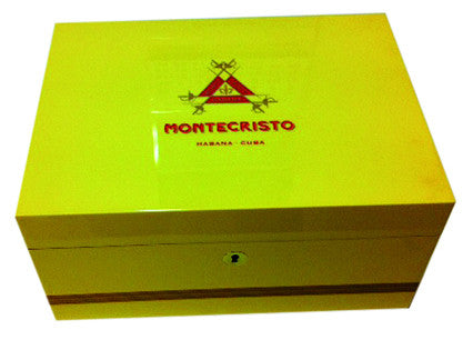 Montecristo Humidor for 50 Cigars - Perique...the Essence of...