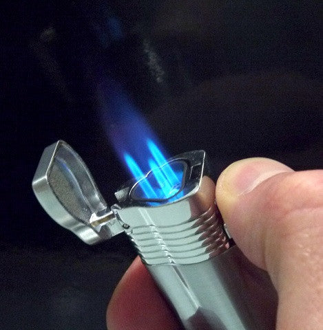 JC Jet Lighter with 3 Flames & Punch