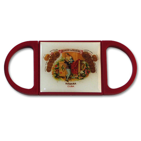 Romeo y Julieta, Double Blade, Plastic Cigar Cutter - Perique...the Essence of...
