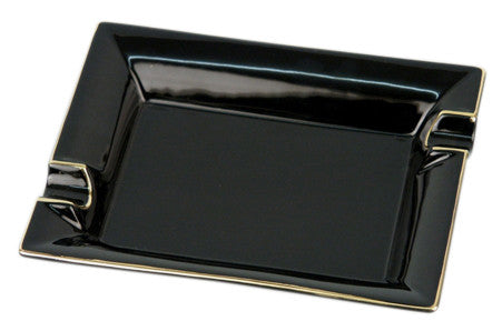 Square Ashtray - Black - Perique...the Essence of...