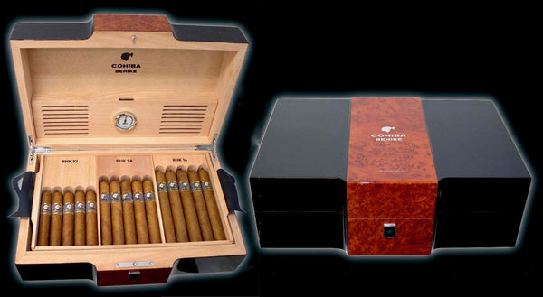 HUMIDOR COHIBA BEHIKE (Limited) with 30pc BEHIKE Cigars