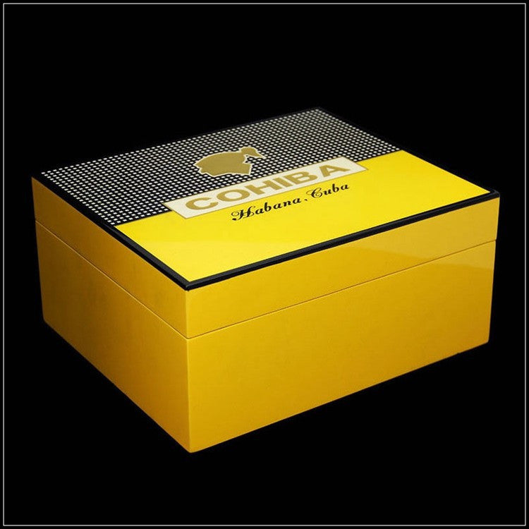 Cohiba Humidor for 50 Cigars - Perique...the Essence of...