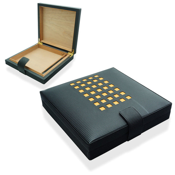 Cohiba Travel Humidor (Limited) in Leather, and 11pc Cohiba V - Perique...the Essence of...