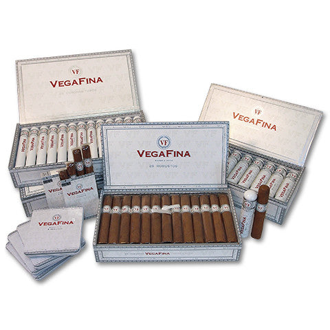 VegaFina Coronas 25p A/T (Tubos) x 1 - Perique...the Essence of...