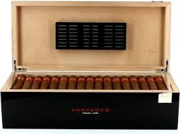 Partagas Humidor for 50 Cigars - Perique...the Essence of...