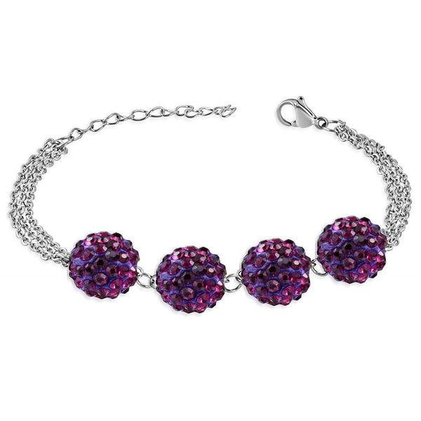 Shamballa and cubic zirconia bracelet in South Africa