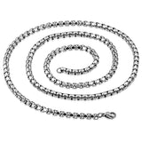 Stainless Steel Venetian Box Link Chain
