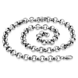 Stainless Steel Rolo Link Chain