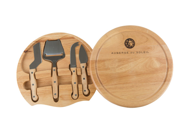 Auberge Cheeseboard and Utensils