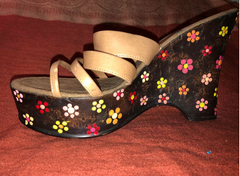 Women's shoes and a DIY paint job makes old things new again - and fun too.