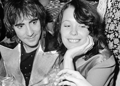 Keith Moon and Pamela Des Barres rock around the world in 1978