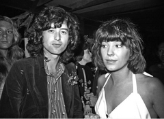 Pamela Des Barres loves the bad boys and loves them good, like Jimmy Page.