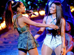 "Nicki Minaj & Ariana Grande ""Bed"""